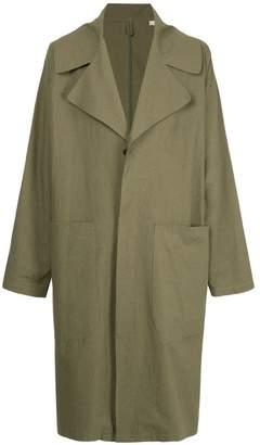 Kent & Curwen oversized trench coat