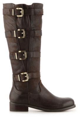 Two Lips Jealous Wide Calf Riding Boot