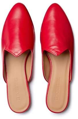 482d8b9e1a89 Le Monde Beryl Marlboro Red Leather Venetian Mule