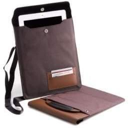 Bey-Berk Adjustable Strap Tablet & iPad Case