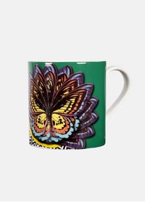 Mary Katrantzou Ornithopter Mug Green