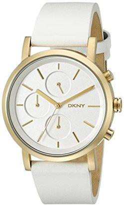 DKNY (ディー ケー エヌワイ) - DKNYレディースny2337 Sohoホワイト腕時計