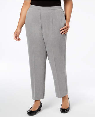 Alfred Dunner Plus Size Smart Investments Pull-On Pants