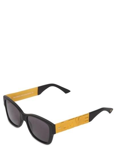 Dice Love/Hate Acetate Sunglasses