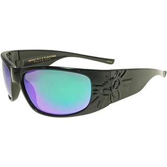 Black Flys Sonic 2 Floating Polarized Shield Sunglasses
