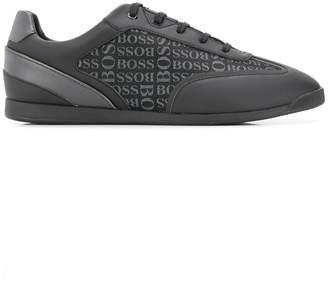f514a6d9ddc Mens Black Trainers Hugo Boss - ShopStyle UK