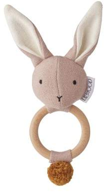 Liewood Aria Wood and Organic Cotton Rattle