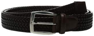 Torino Leather Co. 35mm Italian Woven Stretch Leather Men's Belts