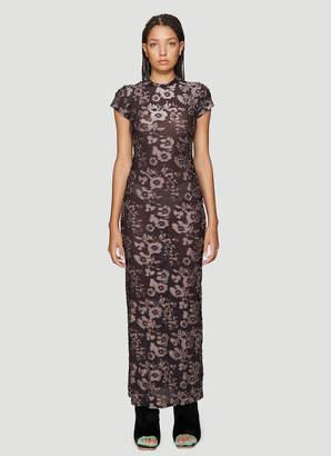 Eckhaus Latta Shrunk Dress in Purple
