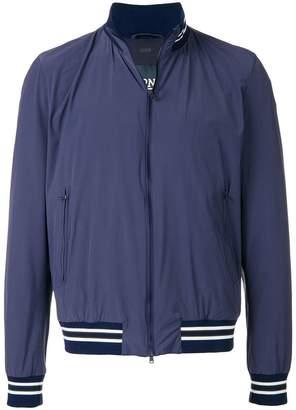 Herno zip fastened bomber jacket