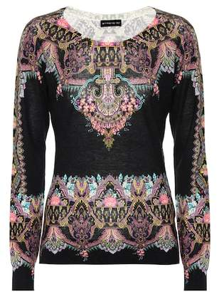 Etro Silk and cashmere top