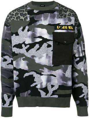 Diesel K-camou jumper