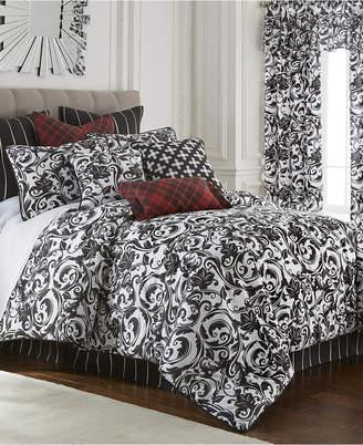 Colcha Linens Scrollwork Duvet Cover Set Super King Bedding