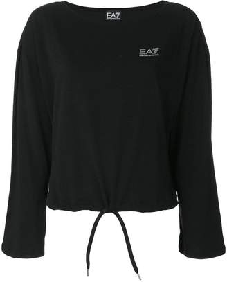 Emporio Armani Ea7 embellished logo sweatshirt