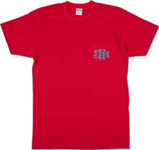 Supreme Go F*ck Yourself Pocket Tee - 'SS 2017' - Red