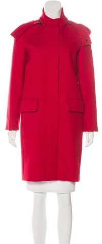 Max Mara MaxMara Virgin Wool & Cashmere Coat