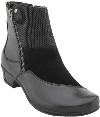 Earth Orion Women US 7 Black Ankle Boot
