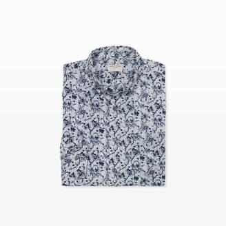 Club Monaco Slim Kal Floral Shirt