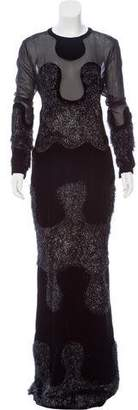 Tom Ford Velvet Evening Dress w/ Tags