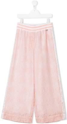 Simonetta TEEN lace palazzo pants