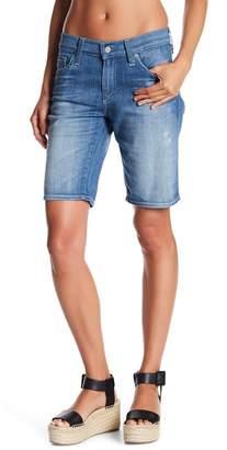 AG Jeans 'Nikki' Distressed Denim Bermuda Shorts (11 Years Sapphire Sky)