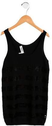 Rykiel Enfant Girls' Sequined Sleeveless Dress