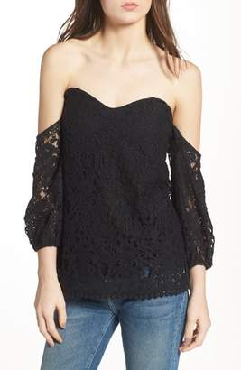 Bailey 44 Dream Come True Off the Shoulder Lace Top