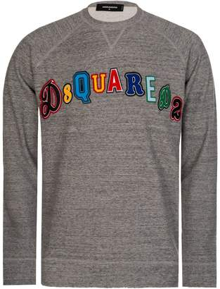 DSQUARED2 Dsquared Patch Logo Sweatshirt