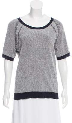 A.L.C. Short Sleeve Knit Sweater