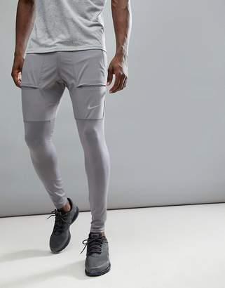 Nike Running Hybrid Joggers In Grey AA4199-036