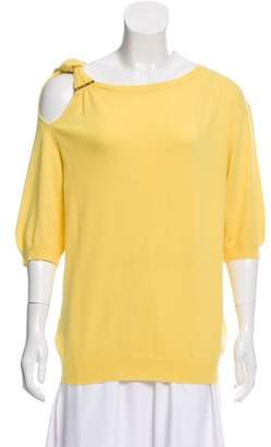 Louis Vuitton Cashmere Cold Shoulder Sweater