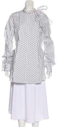 J.W.Anderson Striped Oversize Top
