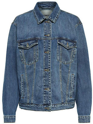 Only Long Classic Denim Jacket