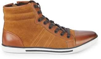 Kenneth Cole Base Down Low Suede Sneakers