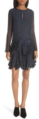 Jason Wu GREY Ruffle Silk Dress