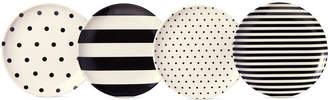 Kate Spade Raise a Glass Black and White Coasters