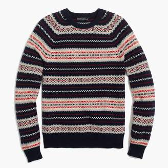 J.Crew Fair Isle sweater in supersoft wool blend