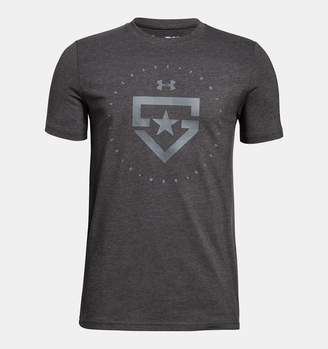Under Armour Boys' UA Heater T-Shirt