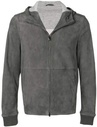 Corneliani hooded jacket