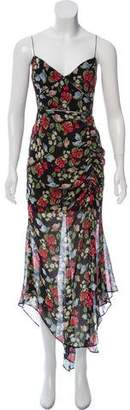 Nicholas Silk Floral Print Dress