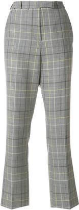 Etro check tailored trousers
