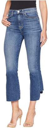 Hudson Holly High-Rise Crop Flare in Loss Control Women's Jeans