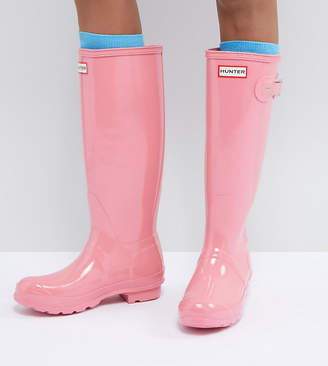Hunter Tall Gloss Wellie