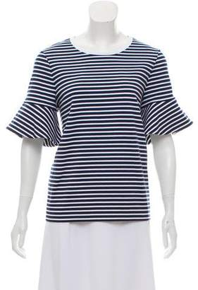 Draper James Striped Scoop Neck Top w/ Tags