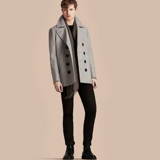 Burberry Wool Cashmere Pea Coat $1,095 thestylecure.com