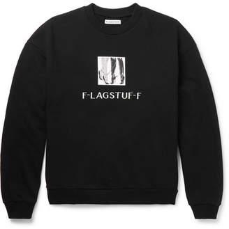 Flagstuff Printed Loopback Cotton-Jersey Sweatshirt
