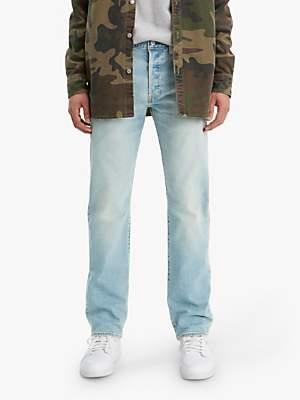 Levi's 501 Original Fit Slim Jeans, Coneflower Tint