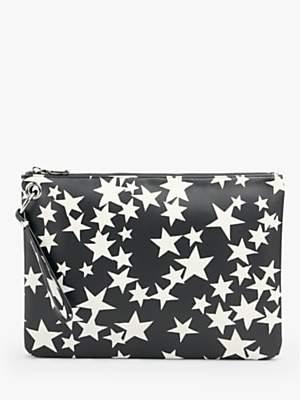 Hush Jackson Zip Top Clutch Bag