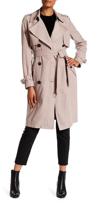 BCBGeneration BCBGeneration Long Double Breasted Trench Jacket