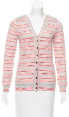 Louis Vuitton Embroidered Button-Up Cardigan